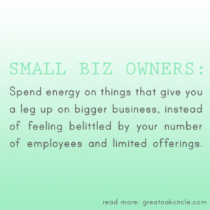 Why is small business better?