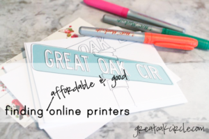 Affordable and good online printers