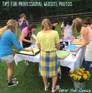 #1 website game-changer…professional photography!